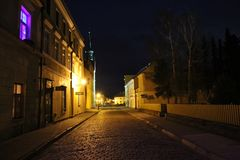 urząd miasta w Vidnava mieście obrazy stock