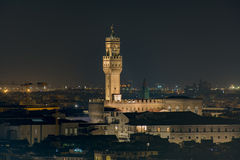 Urząd miasta zarząd miasta Florencja Zdjęcia Stock