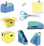 Urząd pocztowy ustawia 1 royalty ilustracja
