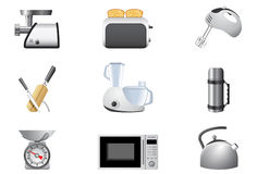 urządzeń gospodarstwa domowego kuchnia Fotografia Royalty Free