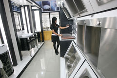 urządzeń projekta domu ikon kuchenny set twój Obrazy Royalty Free