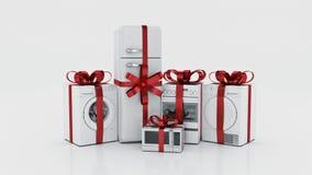 urządzeń projekta domu ikon kuchenny set twój Set gospodarstwo domowe kuchni technics ilustracja wektor