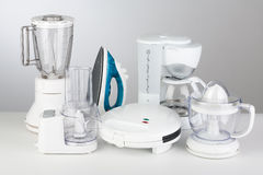 urządzeń tła ilustracyjny kuchenny biel Obraz Royalty Free