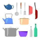 urządzeń tła ilustracyjny kuchenny biel Fotografia Stock