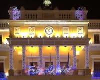Urzędów Miasta światła Obraz Royalty Free