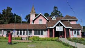Urzędu pocztowego budynek w mieście Nuwara Eliya Fotografia Royalty Free