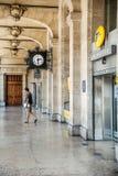 Urzędu pocztowego budynek z piękną architekturą Obrazy Royalty Free
