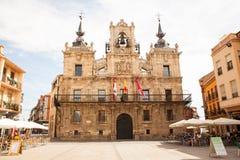 Urząd miasta Astorga Obrazy Royalty Free