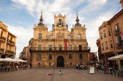 Urząd miasta Astorga Fotografia Royalty Free