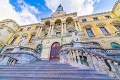 Urząd Miasta Bilbao Zdjęcie Stock
