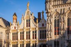 Urząd Miasta, Bruges Fotografia Stock