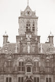 Urząd Miasta, Delft, Holandia, holandie Obrazy Royalty Free