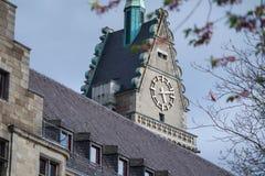 Urząd miasta Duisburg w Niemcy Obrazy Royalty Free