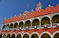 urząd miasta Merida Mexico Yucatan Obrazy Royalty Free