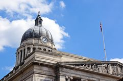 Urząd Miasta, Nottingham Obraz Royalty Free