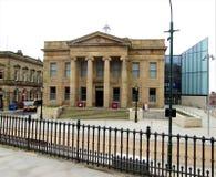 Urząd miasta - Oldham grodzki centre Obrazy Royalty Free