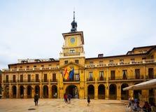 Urząd miasta Oviedo Hiszpanii asturii Fotografia Royalty Free