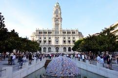 Urząd miasta Porto Obrazy Royalty Free