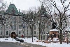 Urząd Miasta Quebec miasto, Quebec, Kanada Obrazy Stock