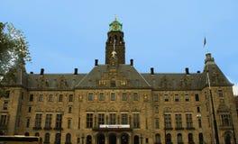 Urząd miasta Rotterdam, Holandia Zdjęcie Royalty Free