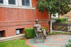 Urząd miasta statua Oxford Obrazy Stock