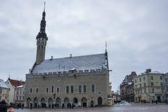 Urząd Miasta Tallinn Obrazy Royalty Free