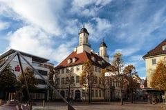 Urząd Miasta Tuttlingen Zdjęcia Stock