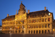 Urząd miasta w Antwerp Fotografia Royalty Free