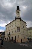 Urząd miasta w Banska Stiavnica, Sistani 2017 04 30 Fotografia Stock