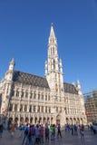Urząd Miasta w Bruksela, Belgia Zdjęcie Royalty Free