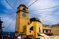 Urząd miasta w Capri Fotografia Royalty Free