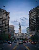 Urząd Miasta W centrum Filadelfia Pennsylwania Obraz Royalty Free