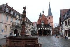 Urząd miasta w Michelstadt, Niemcy Fotografia Stock