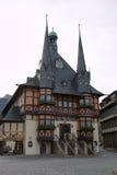 Urząd miasta Wernigerode, Niemcy Zdjęcia Royalty Free