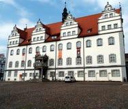 Urząd miasta Wittenberg, Niemcy 12 04 2016 Fotografia Stock