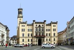 Urząd miasta Zittau w Niemcy Obrazy Stock