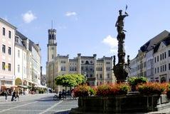 Urząd miasta Zittau w Niemcy Obraz Royalty Free