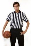urzędnik koszykówki Obraz Stock