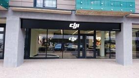 Urzędnika DJI sklep Obrazy Stock