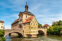 Urzędu Miasta budynek w Bamberg, Niemcy Zdjęcie Royalty Free