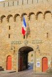 Urzędu miasta Hotelu De Ville budynek w St Malo, Zdjęcia Royalty Free