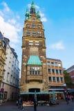 Urzędu Miasta wierza w Muenster, Niemcy Zdjęcie Royalty Free