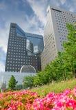 urzędu wysokiego budynku wzrost Zdjęcia Royalty Free