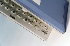 urządzenie klawiatura elektronicznej. fotografia stock