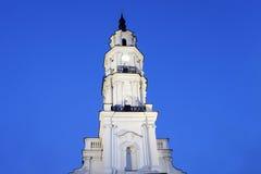Urząd Miasta, Kaunas Obrazy Royalty Free