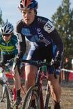 Urze Clark - piloto de Cyclocross da mulher Fotos de Stock Royalty Free