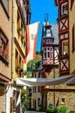 Urzig town in Moselle valley, Germany Royalty Free Stock Photos