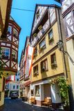 Urzig, wine village in  the Moselle valley Germany Royalty Free Stock Images