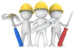 Usługa i naprawa. ilustracja wektor
