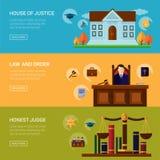 Usługi prawne przestępstwo i kary prawo ilustracja wektor